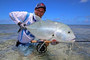 St Brandons Atoll, das magische Atoll nordöstlich von Mauritius für Fliegenfischer.  Auf St. Brandon fängt man die größten Bonefish und Trevally.