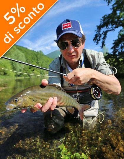 Newsletter per la pesca a mosca