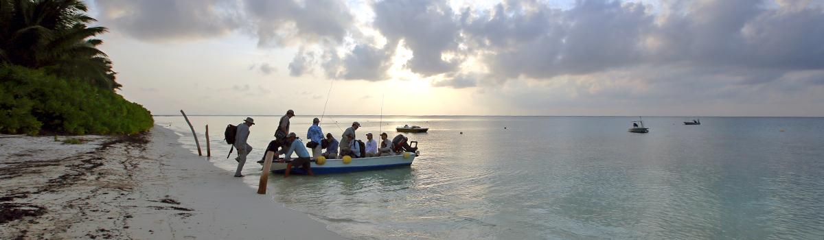 Fliegenfischen auf den Seychellen