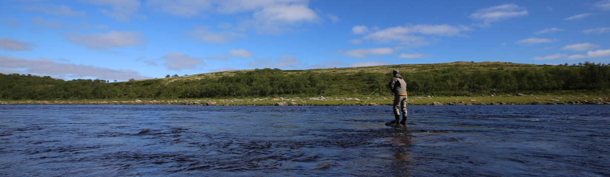 Hosted fly fishing trip Yokanga Russia