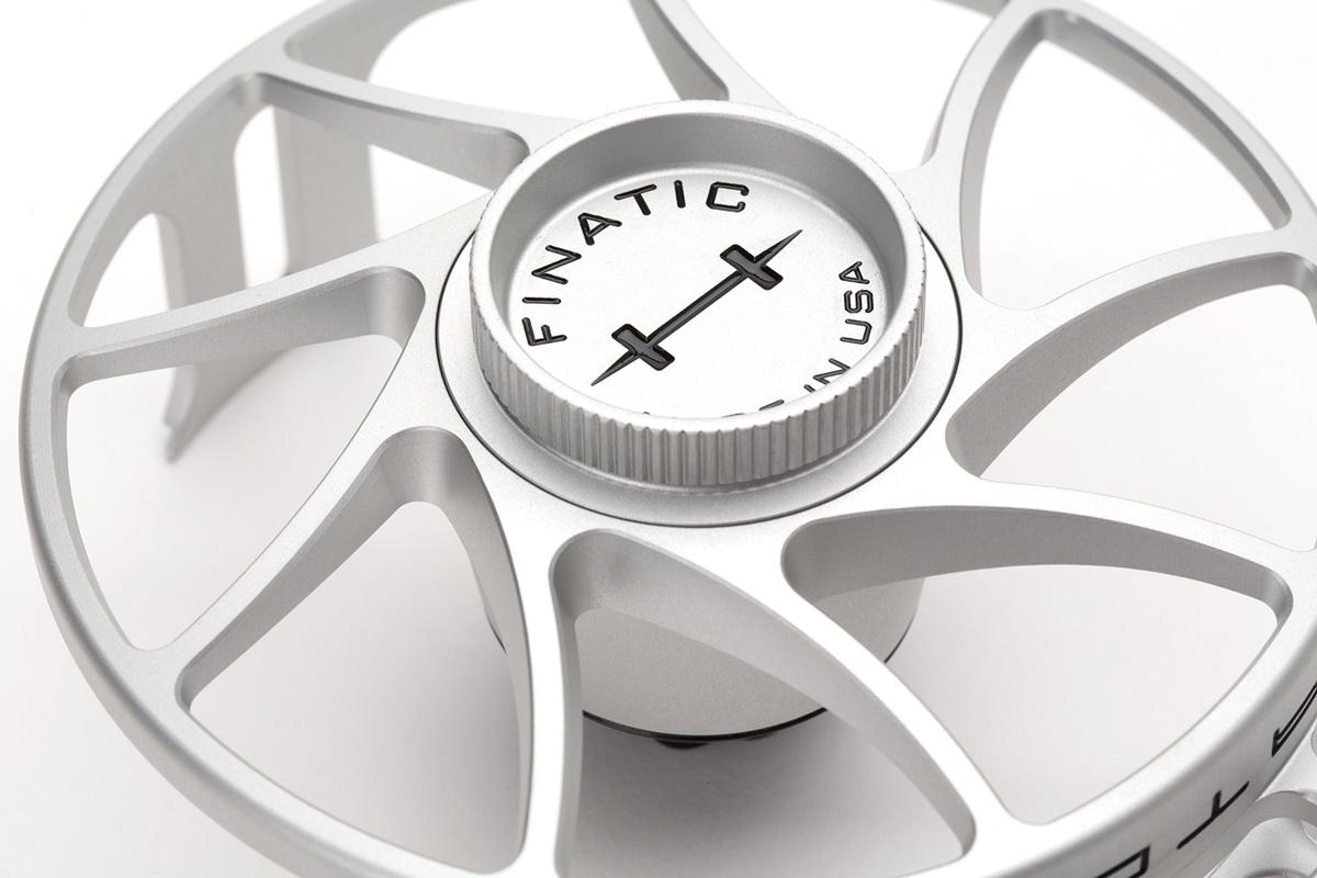 Hatch Finatic Gen 2 Fliegenrolle, Beschaffenheit der Oberfläche