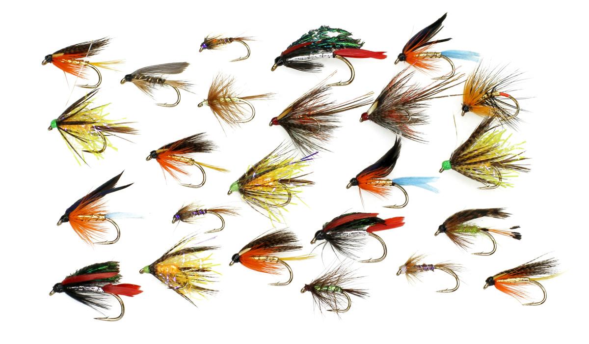 Nassfliegenfischen an der Savinja - Fliegenfischen mit Nassfliegen